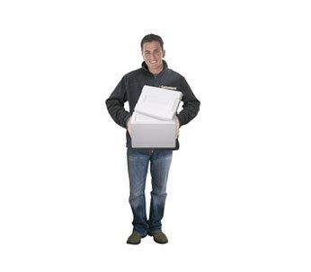 8 litros caja de poliestireno - Nevera - Caja de pescado - Qty 1: Amazon.es: Hogar