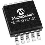 - MCP33121-05-E/MS, 14-bit, 500 ksps, Single Channel, Single-Ended SAR ADC (10 Items)