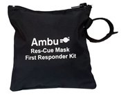 RES-CUE MASK, FIRST RESPONDER KIT, BASIC (Mask Kit Rescue Cpr)