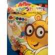 Arthur Paint and Sticker 2 in 1 Fun Book