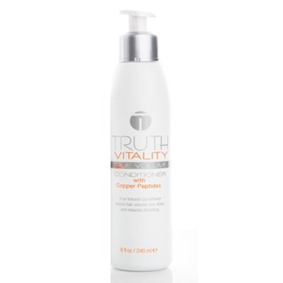 Cheap Truth Vitality True Volume Conditioner with Copper Peptides | Combats Thinning Hair and Restores Volume | Hydrates and Adds Shine | Sulfate and Paraben Free (8 oz)