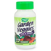 Nature Veggies Jardin Way, 60 Vcaps