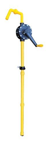 Vestil RP-90R Manual Rotary Drum Pump, PPS (Polyphenylene) , 2