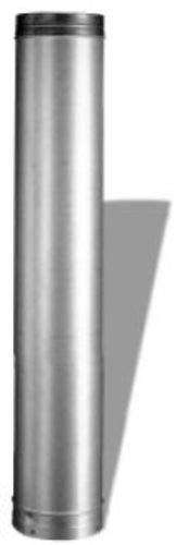 M & G Duravent 8DLR-48 DuraLiner 8 Inch x 48 Inch Round Rigid Pipe - Length Round Rigid Pipe