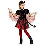 Fun World Fiery Devil Costume, Medium 8-10, -