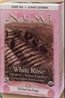 Numi Organic Tea White Rose, Full Leaf White Tea, 16-Count non-GMO Tea Bags