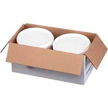Krono Country Classic Feta Cheese, 4 Pound -- 2 pails.