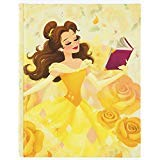 Disney Parks Belle Beauty and the Beast Hardcover Blank Book Journal Diary