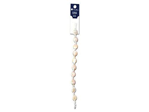 Blue Moon Freshwater Pearls (Blue Moon Beads Bead Strand 7 in. Fresh Water Pearl Coin)