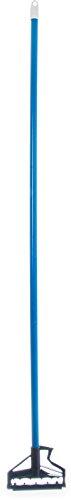 Carlisle 4166414 Sparta Spectrum Quick Release Fiberglass Mop Handle, 1'' Diameter x 60'' Length, Blue (Case of 12) by Carlisle