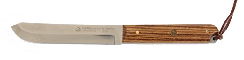 Puma-SGB-Mountain-Man-Zebra-Wood-Hunting-Knife-with-Pancake-Leather-Sheath