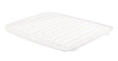 (Rubbermaid Antimicrobial Drain Board Large, White FG1182MAWHT)
