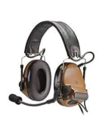 3 M Peltor comtac III Electronic Headset Fb Single comm NATO Coyote Brown mt17h682fb-47 CY