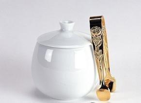 HIC Rose Sugar Tong, Gold Plated, 4-Inch by HIC Harold Import (Rose Sugar Tongs)