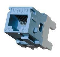 Belden RV6MJKU 1-Port Cat-6 T568A//B UTP Modular Jack Single Pack Ivory Pack of 10
