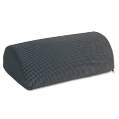 Half-Cylinder Padded Foot Cushion, 17-1/2w X 11-1/2d X 6-1/4h, Black By: Safco (Safco Half Cylinder Padded Foot)