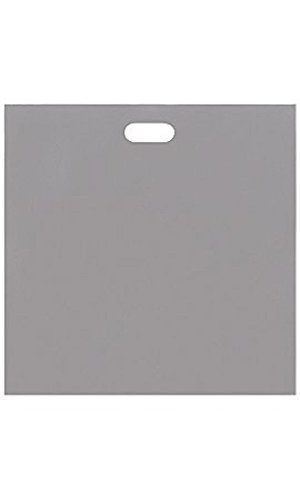 Jumbo Low Density Gray Merchandise Bags - Case of 500 by STORE001