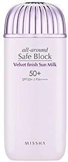 [Missha] All Around Safe Block Velvet Finish Sun Milk SPF50+ PA++++ 70ml ()