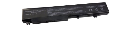 - 5200mah 14.8V 8 cell Battery for DELL DELL Vostro 1710, Vostro 1720 series laptop replace 312-0740 312-0741 P721C P726C T117C T118C