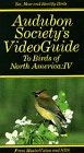 (Audubon Society's VideoGuide to Birds of North America: IV (4) [VHS])