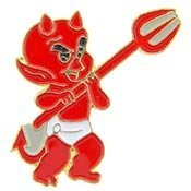 Metal Lapel Pin - Cartoons - Little Devil