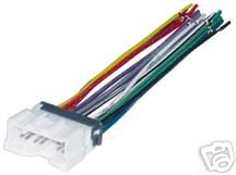 210F3RQNR5L amazon com stereo wire harness hyundai elantra 01 02 03 04 05 Radio Wiring Harness Adapter at honlapkeszites.co