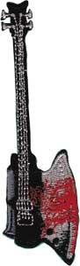 Guitar Applique - 6