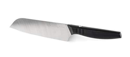 - Peugeot 50078 Paris Bistro 19, Santoku 7 1/2-inch Knife, 19cm / 7 ½-inch, Black
