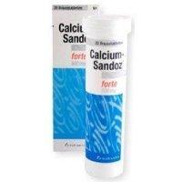 Calcium-Sandoz Forte 500 mg 20 Effervescent Tablet 2Pack