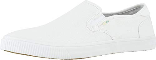 TOMS mens Baja Sneaker, White, 13 US