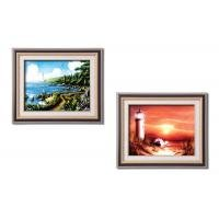 こちらの商品は【 0511940運命の岬 】のみです。 鮮明に描かれた美しい風景画です。 アランギアナ絵画額 〈簡易梱包 B07S7Y6ZPB