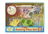 Melissa & Doug Baking Play Set (20 pcs) - Play Kitchen Accessories (Little Cupcake Kitchen compare prices)