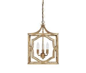 Antique Gold Pendant Light in US - 9
