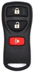2007 07 Nissan Versa Nissan Keyless Entry Remote - 3 Button