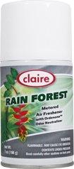 Rainforest Freshener Air (Claire Rain Forest 7oz Metered Air Freshener)