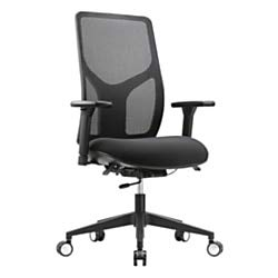 WorkPro 4000 Series Mesh/Fabric High-Back Multifunction Ergonomic Chair