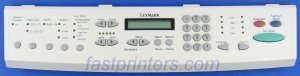 - 56P2376 -N Lexmark Operator Panel (X242 MFP Option X520, 3100 X630 X632S, Optra T616)