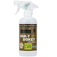 Oak-Y Dokey Wood Cleaner And Polish, 16 oz by Better Life (Pack of 3)