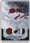 Ilya Bryzgalov #21/50 (Hockey Card) 2010-11 Upper Deck Artifacts - [Base] - Emerald Jersey/Patch #60