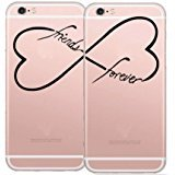 Best DECO FAIRY® Friend I Phone Cases - iPhone 8 / 7 Compatible , BFF Best Review