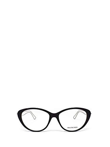 Luxury Fashion | Balenciaga Woman BB0067O001 Black Metal Glasses | Season Permanent