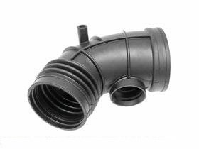 BMW e39 530i Intake Boot Air Mass Sensor 2 Air Boot OEM flow meter hose line 531