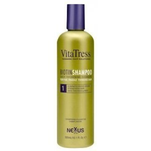 Nexxus Vitatress Biotin Shampoo for Fine Fragile and Thinning Hair 10oz (Vitatress Biotin)