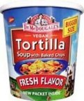 Bulk Save Dr. McDougalls Tortilla Big Soup Cup 6 to 24 packs each 2 Oz