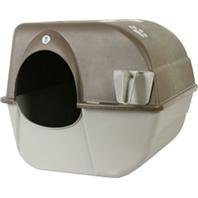 DPD SELF-CLEANING LITTER BOX - Size: LARGE - Color BROWN/TAUPE