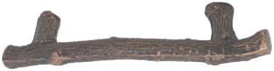 Emtek 86062FB Sandcast Bronze 3 1/2
