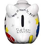 Sports Piggy Bank - Mini - (Personalized & Custom With Name And Year) (First Financial Toy For...