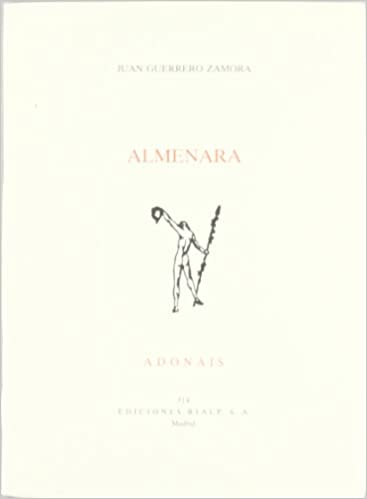 Almenara (Poesía. Adonais): Amazon.es: Guerrero Zamora, Juan: Libros