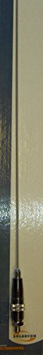 Solarcon 3ft Tunable Stainless Steel CB Antenna Whip 50 Watt - Solarcon A-111 by SOLARCON