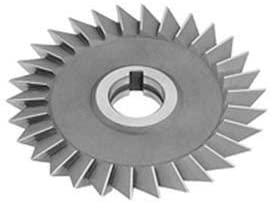 4 DIA x 3//4 Face x 1-1//4 Hole 45176; HSS Import Single Angle Left Hand Cutter